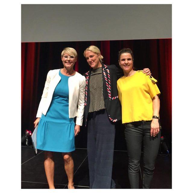 Klar til Lederkonference i Odense om livskvalitet og sundhedsledelseledernes michellekristensenhellip