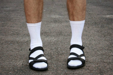 Er du sok-i-sandal-fan?