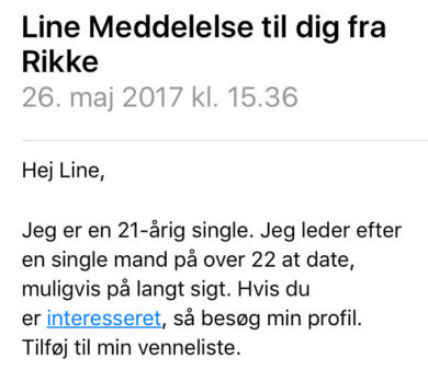 Mit dating liv på Match.com!