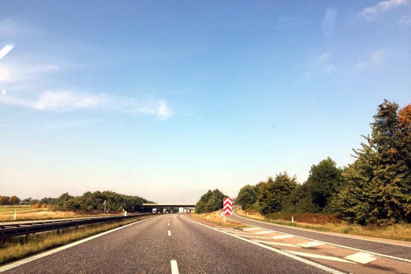 Livet er som en landevej