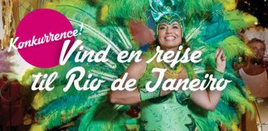 Knib og vind en rejse for to til Rio