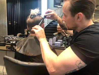 En klip 3 frisurer